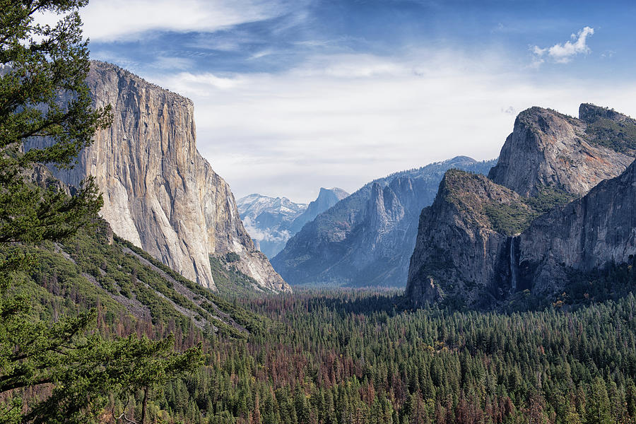 Tunnel View Of The Valley - Yosemite National Park - California Photograph