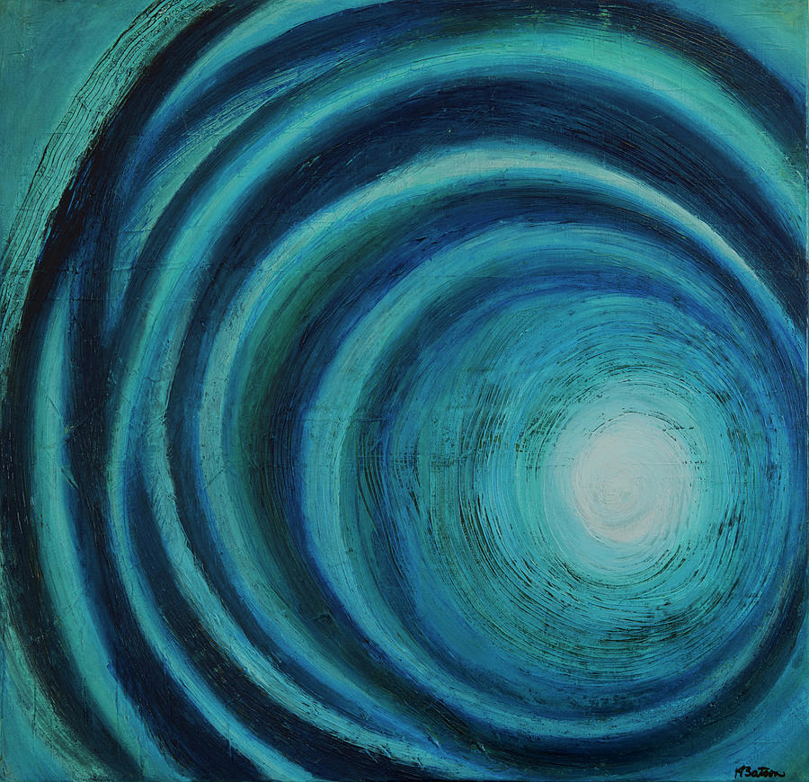 Canvas Print Painting - Tunnel Vision by K Batson Art