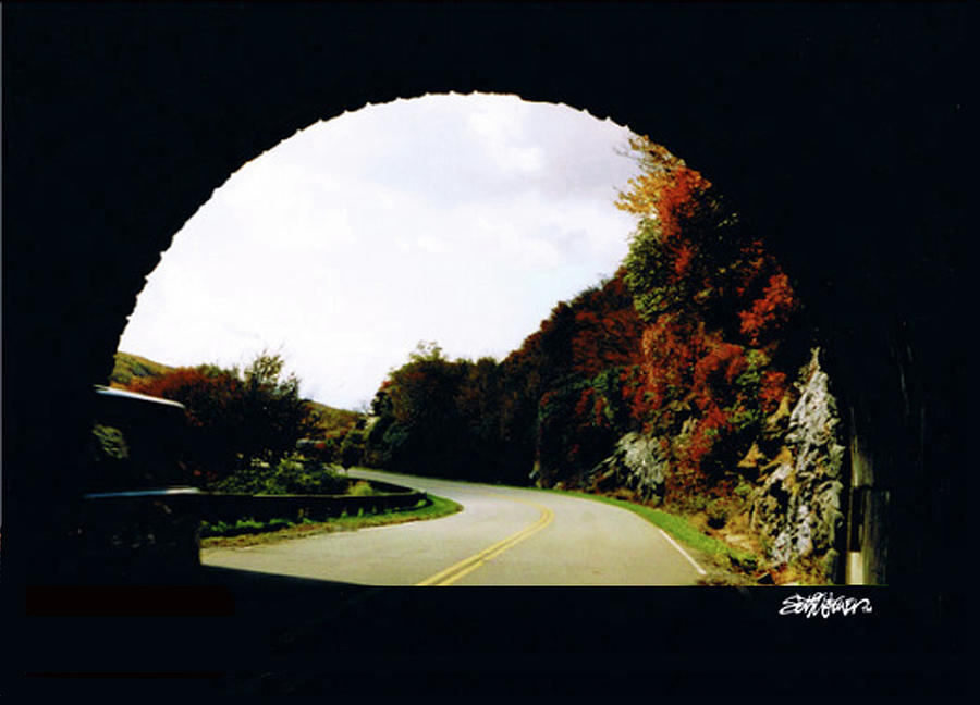 Tunnel Vision Photograph - Tunnel Vision by Seth Weaver
