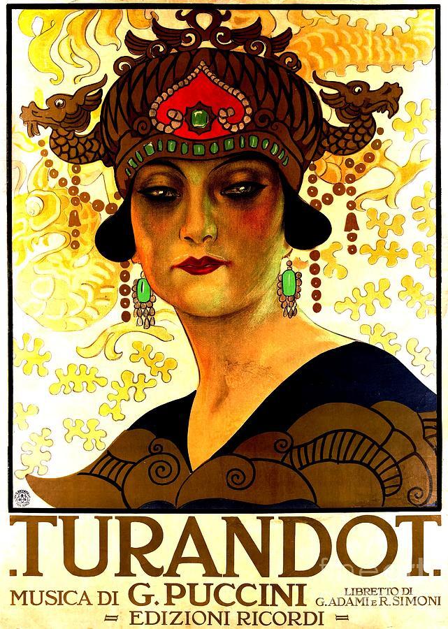 Turandot  Poster Painting