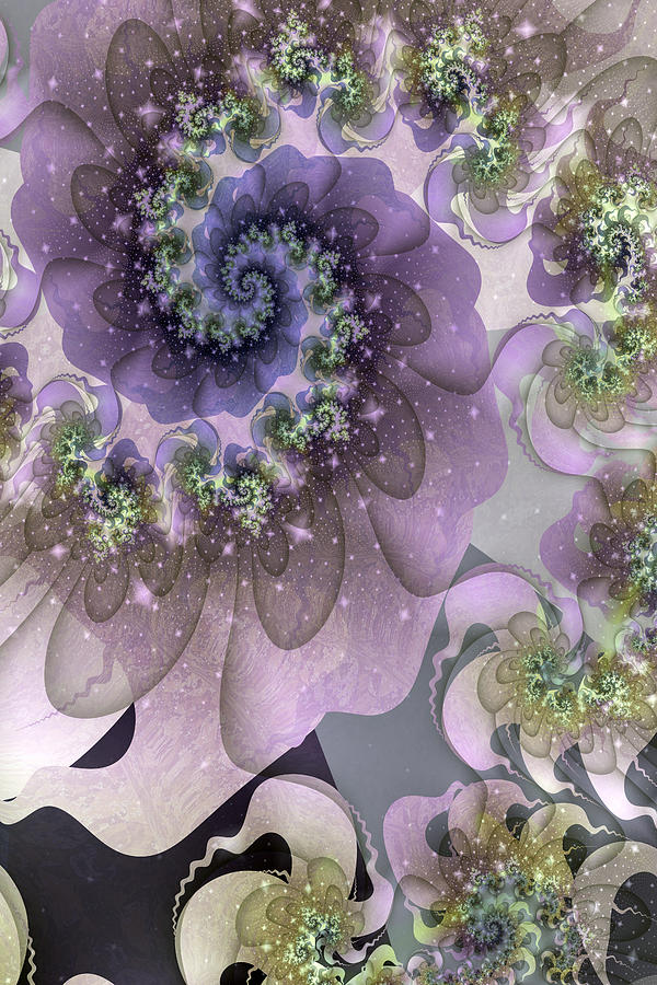 Abstract Digital Art - Turbulent Dreams by David April