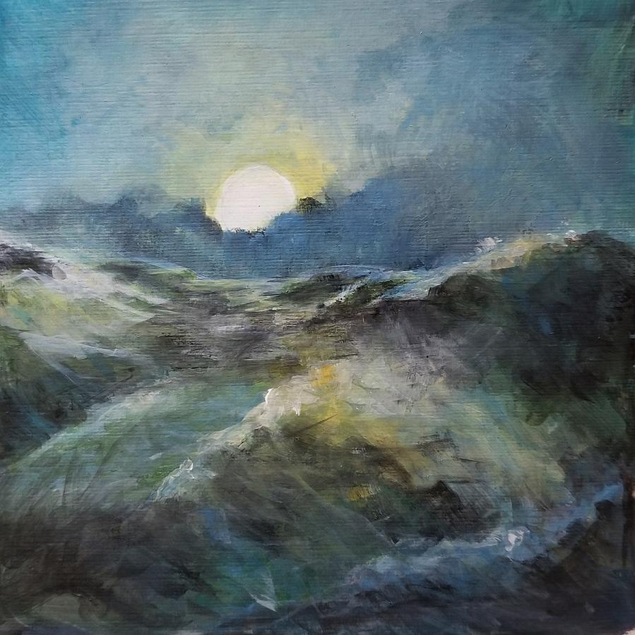 Turbulent Sea by Michele Carter