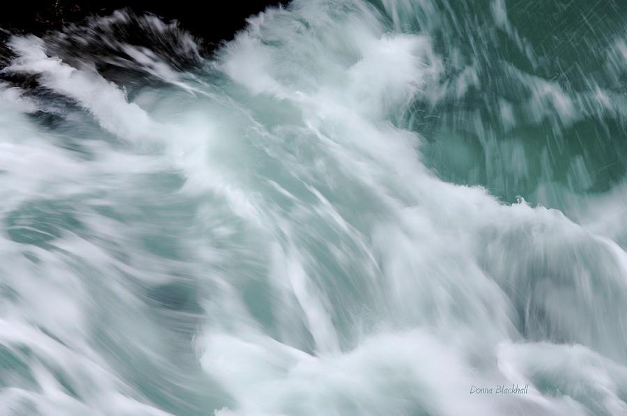 Sea Photograph - Turbulent Seas by Donna Blackhall