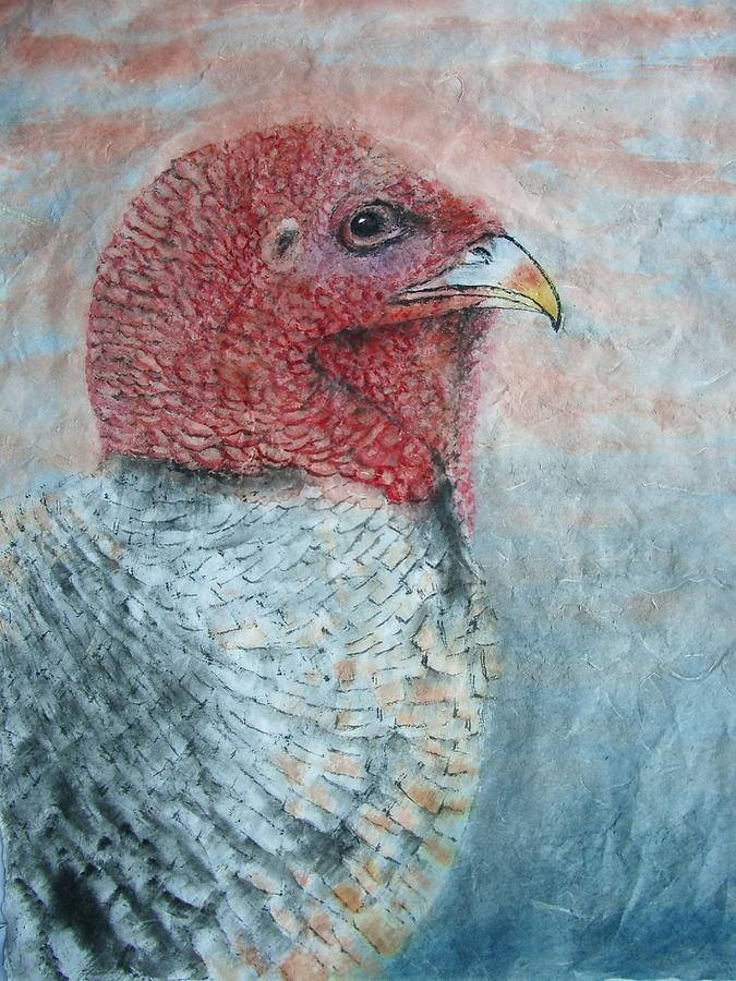 Nature Painting - Turkey by Jian Hua Li