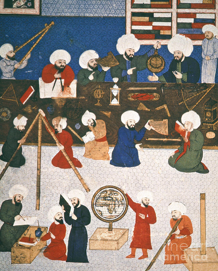 16th Century Photograph - Turkish Astronomers by Granger
