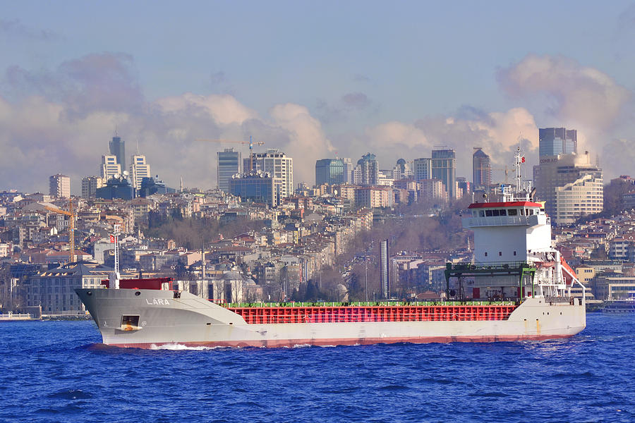 Turkey Photograph - Turkish Cargo by Nicholas Uzunyan