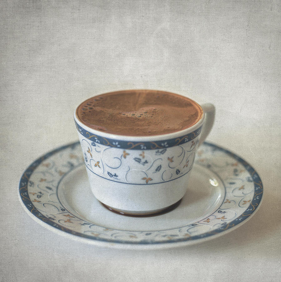Still Life Photograph - Turkish Coffee by Taylan Apukovska