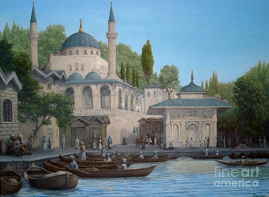 Turkish Mosque by Lee Thomason