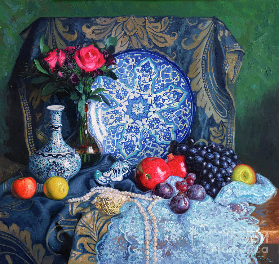 Turkish Still Life Painting by Simon Kozhin
