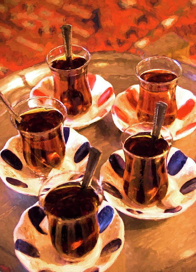Turkey Digital Art - Turkish Tea by Dennis Cox Photo Explorer