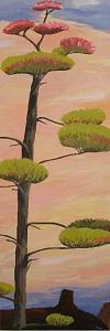 Cactus Painting - Turn Of The Century Plant by Janis Mock-Jones