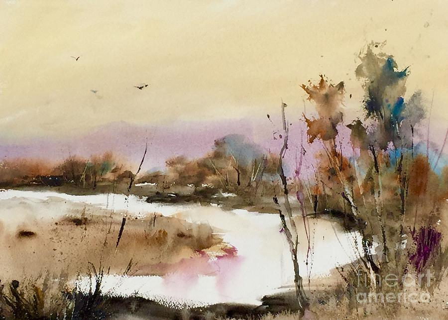 Watercolor Painting - Muskego by John Byram