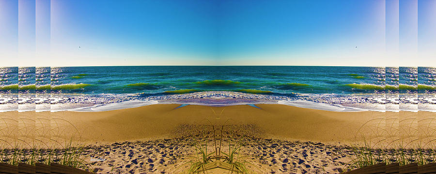 Beach Digital Art - Turn The Page by Betsy Knapp