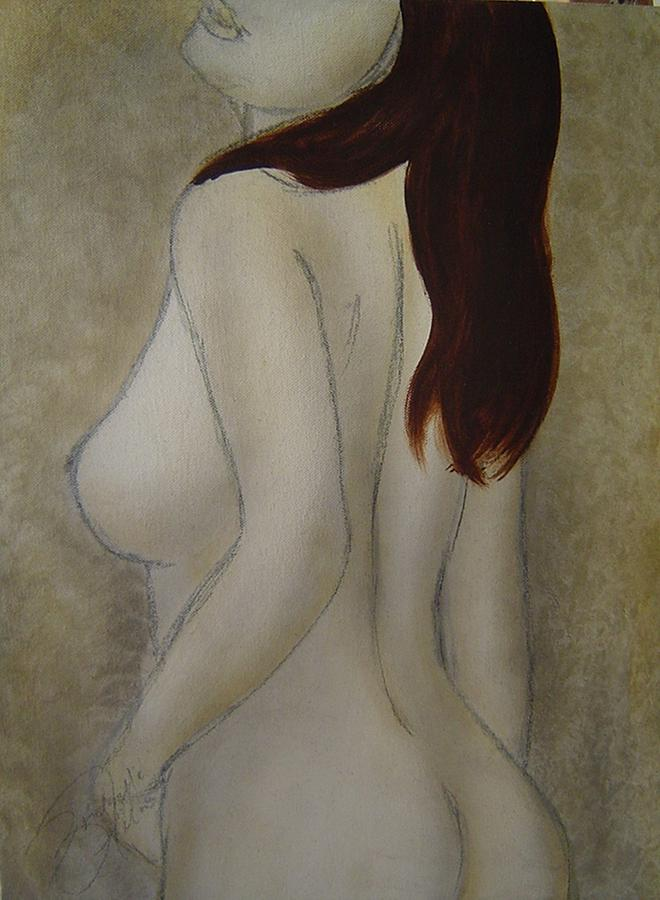 Nude Painting - Turn To Me by Bridgette  Allan