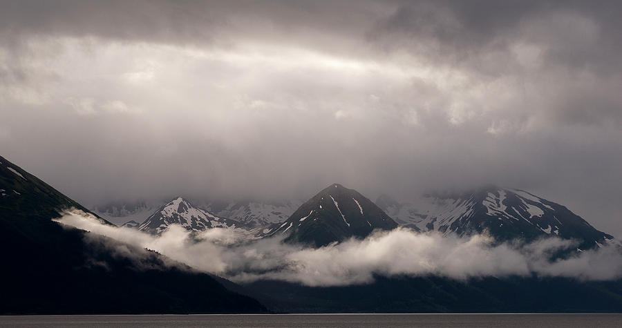 Alaska Photograph - Turnagain Arm by Andy-Kim Moeller