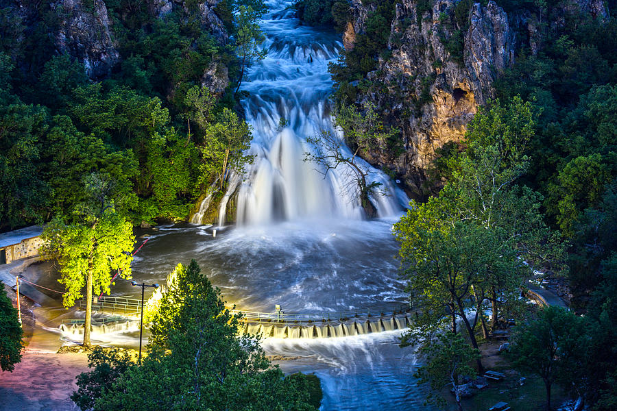 Turner Falls Oklahoma by James Menzies
