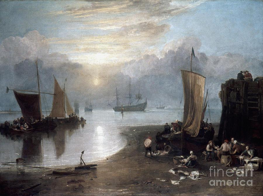 1807 Photograph - Turner: Sun Rising C1807 by Granger