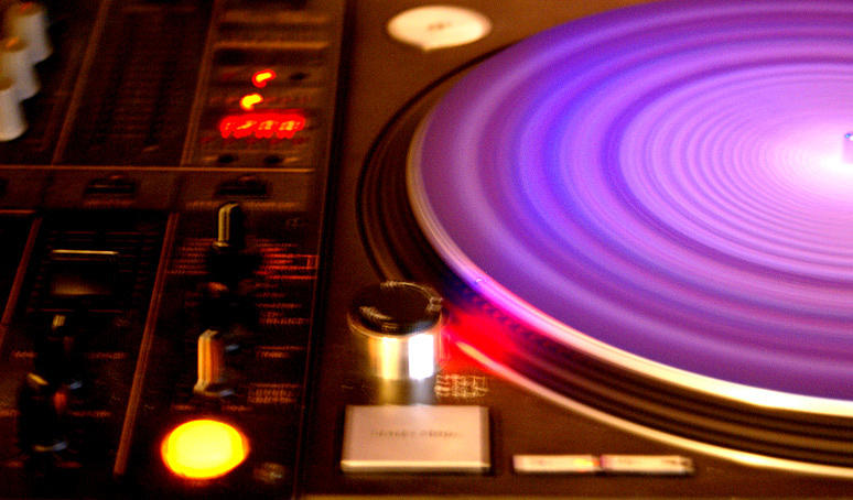 Turntable Photograph - Turntable by Lucienne Sencier