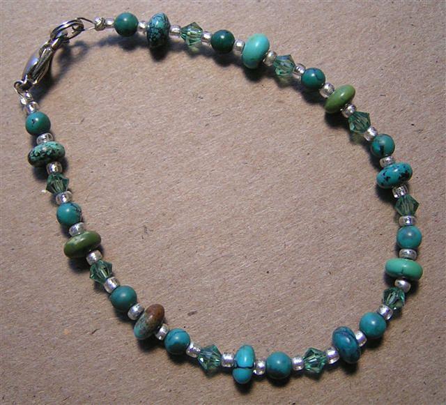 Turquoise Jewelry - Turquoise Bracelet by Kim Souza