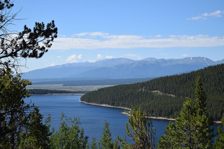 Turquoise Lake Leadville CO by Margarethe Binkley