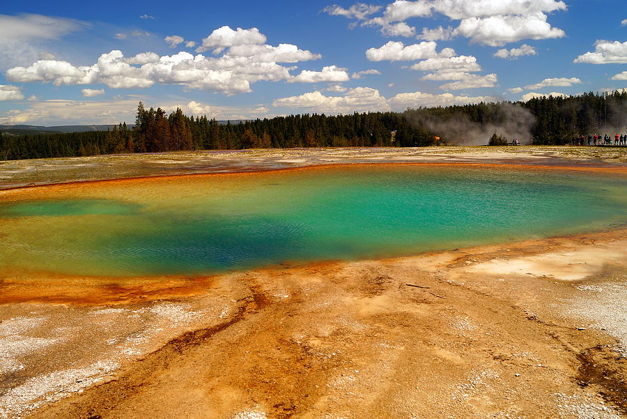 Hot Water Photograph - Turquoise Pool  by Beth Collins