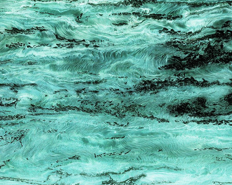 Tokarski Photograph - Turquoise Water by Paul Tokarski