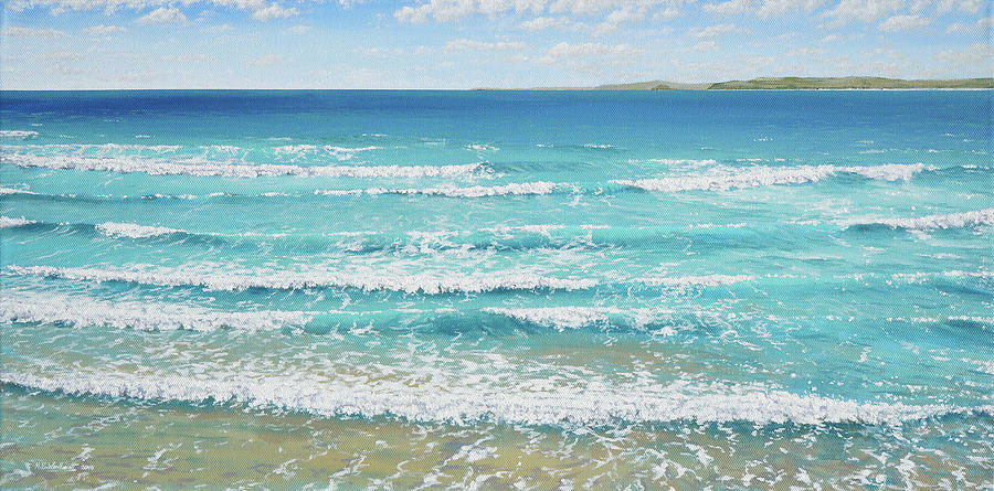 Turquoise Waves by Mark Woollacott