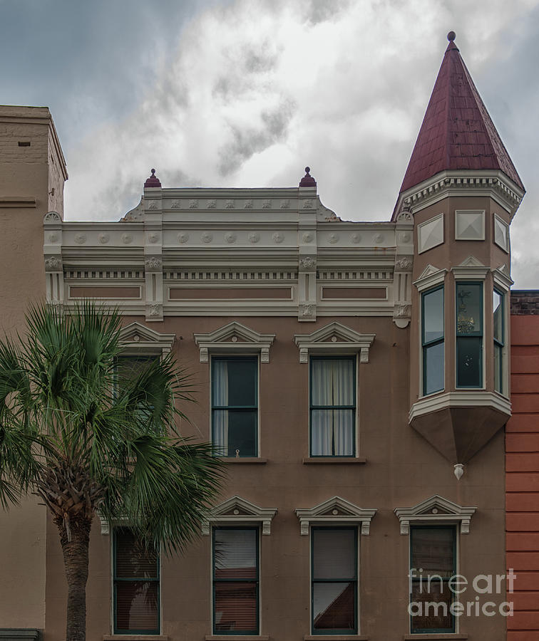 Charleston Photograph - Turret Style by Dale Powell