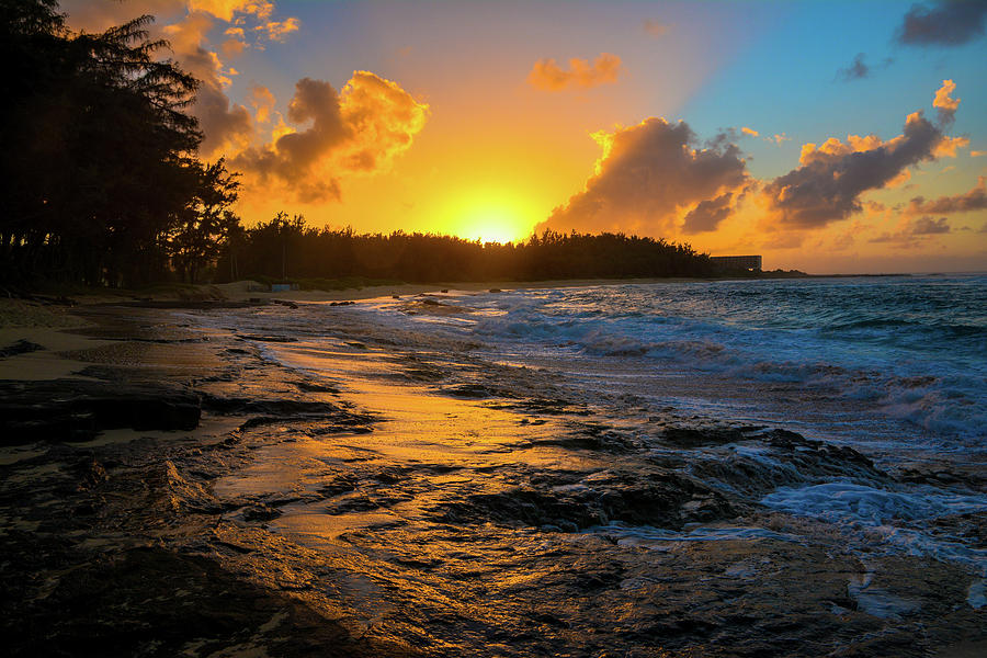 Turtle Bay Hawaii Sunset by Jason Brooks