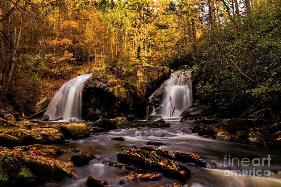 Turtletown Creek Falls by Barbara Bowen