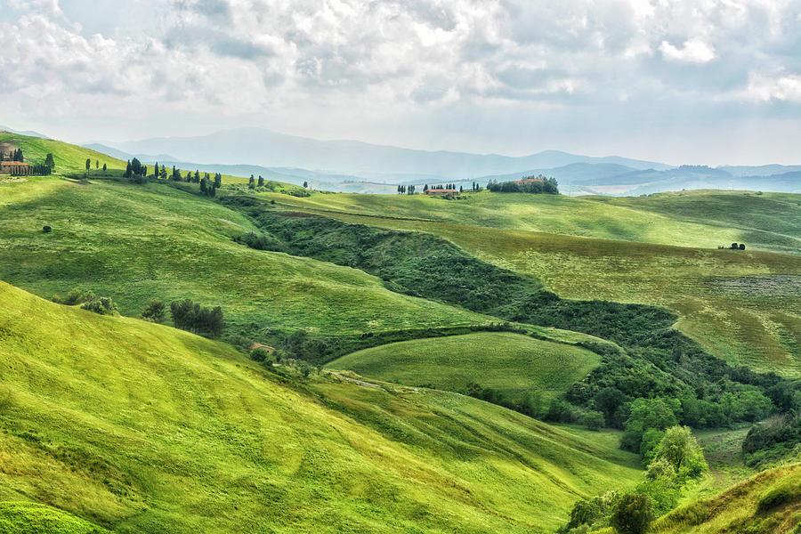 Tuscany Photograph - Tusacny Hills I by Claudia Moeckel