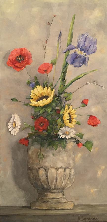 Italy Painting - Tuscan Bouquet by Beth Capogrossi