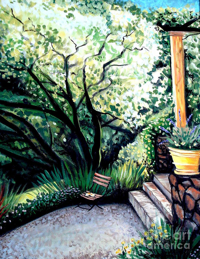 Tuscany Painting - Tuscan Gold by Elizabeth Robinette Tyndall
