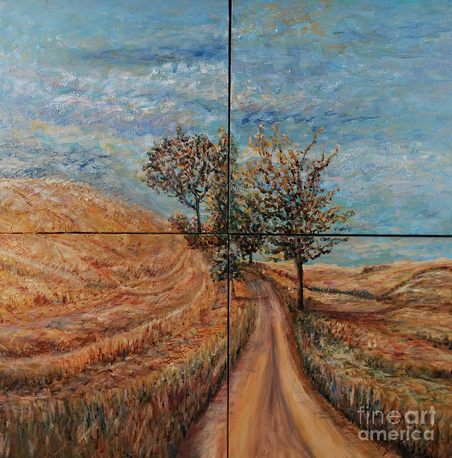 Landscape Painting - Tuscan Journey by Nadine Rippelmeyer