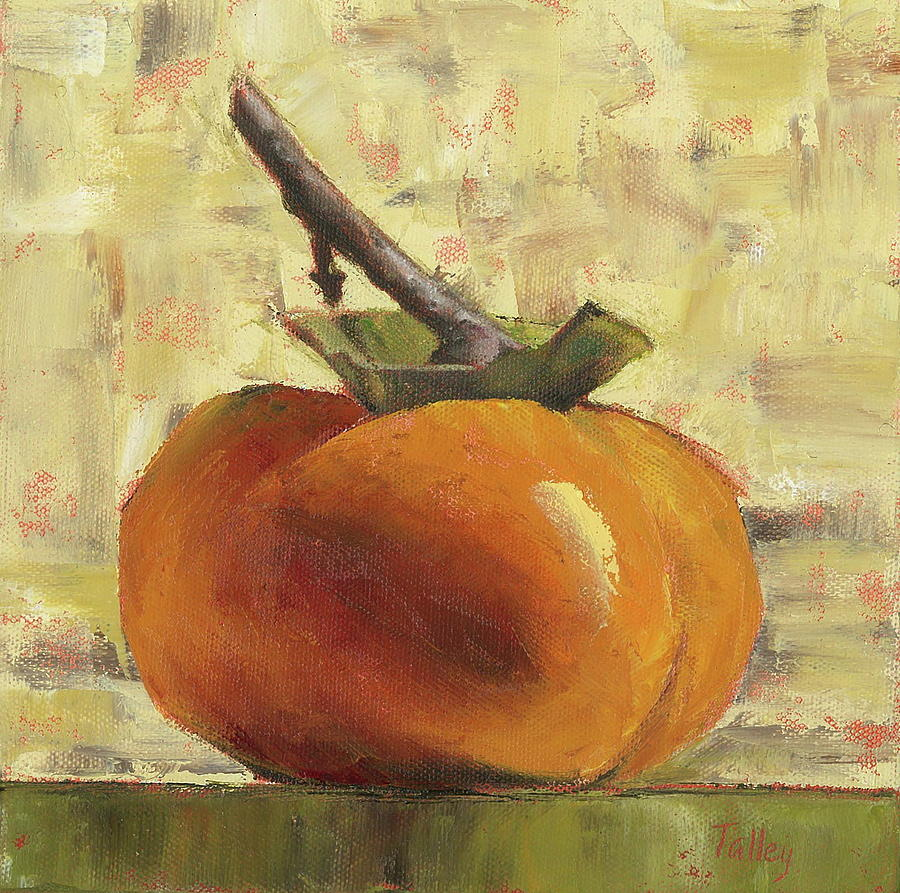 tuscan persimmon painting by pam talley. Black Bedroom Furniture Sets. Home Design Ideas