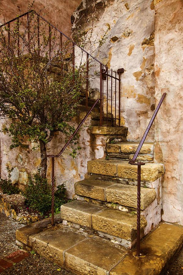 Wonderful Tuscan Photograph   Tuscan Staircase By Lynn Bauer