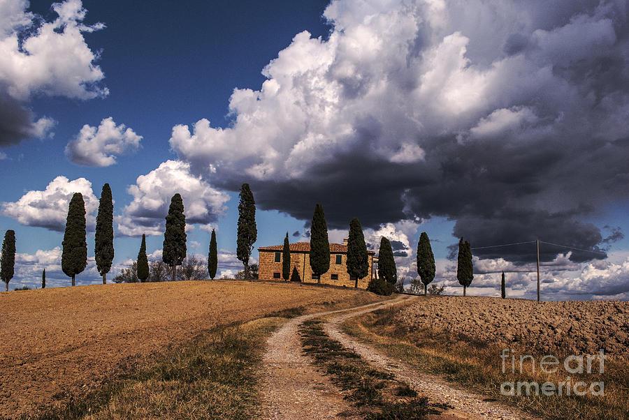 Tuscan Villa Photograph - Tuscan Villa by Yuri San