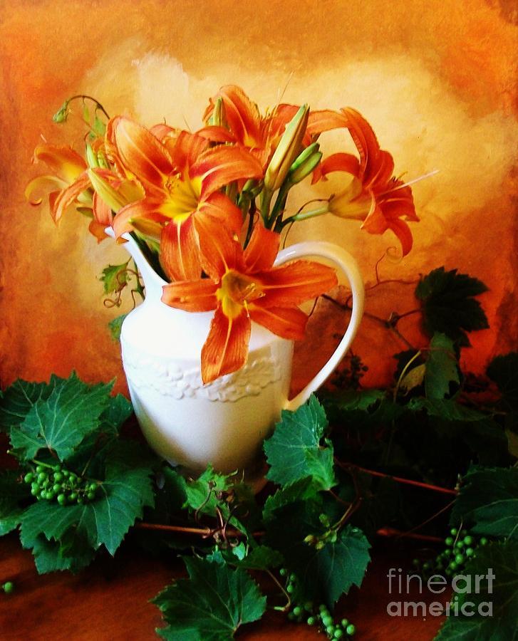 Photo Photograph - Tuscany Bouquet by Marsha Heiken