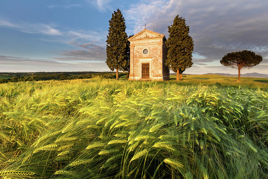 Italy Photograph - Tuscany Chapel by Evgeni Dinev