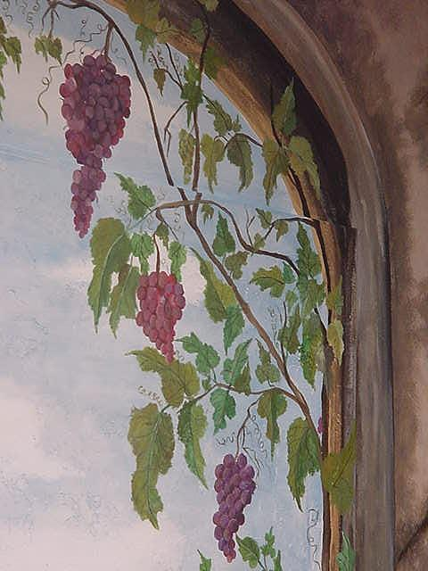 Stone Arch Painting - Tuscany Close Up 2 by Lisa Ruggiero