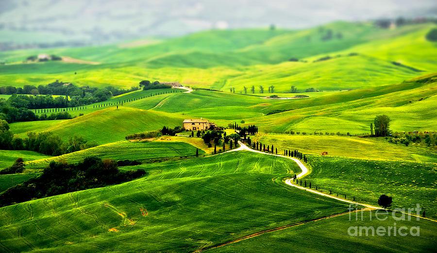 Green Photograph - Tuscany S Green Scapes by Alessandro Giorgi Art Photography