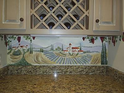 Tuscany Wall Art Painting by Margi Weyers