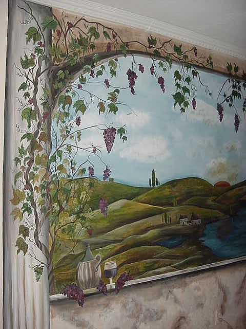 Tuscany Painting - Tuscany Waters by Lisa Ruggiero