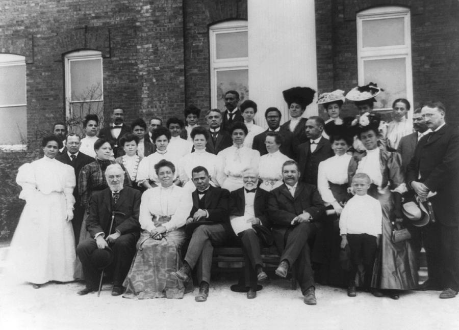 1900's Photograph - Tuskegee Institute Faculty by Frances Benjamin