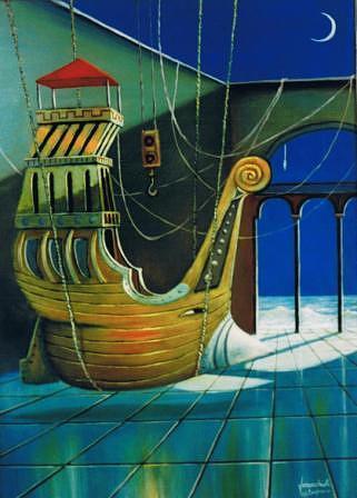 Tutto E Pronto  Painting by Finocchioli Finocchioli