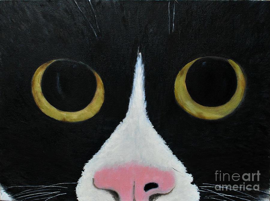 Tux Portrait  by REINA RESTO