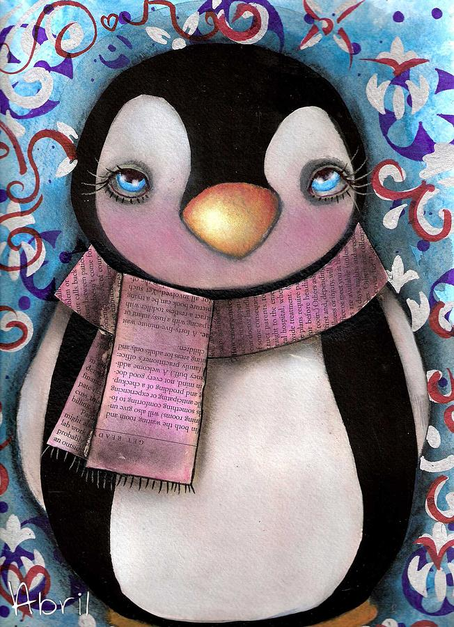 Tuxedo Painting - Tuxedo  by  Abril Andrade Griffith