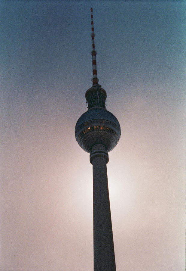 Tv Tower Photograph - TV Tower Berlin by Nacho Vega
