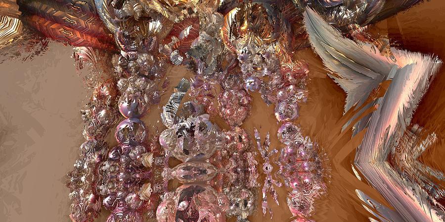 Fractal Landscape Digital Art - Tw 113 by Kaleb Larsen