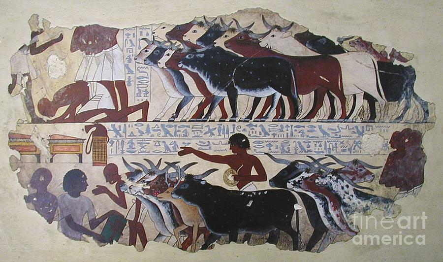 Egypt Painting - Twas The Age Before Christmas by Richard Deurer